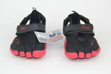 748e3742fdbd FILA Skele-Toes EZ SLIDE Running Water Boat Beach Shoes 1PK14074-005 Mens SZ