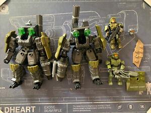 Mega Construx Halo Lot w/ Weapons