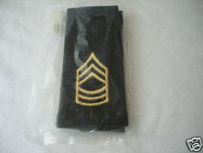 Army Epaulet MSGT Large New Embroidered with metallic thread   E-8 / MSGT ASU
