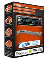 Mazda 121 auto radio stereo, Kenwood CD MP3 Player con USB anteriore AUX IN