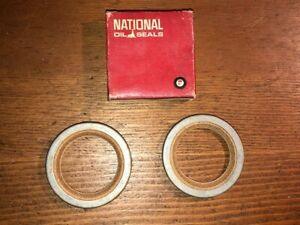 NOS 54-55 Packard Clipper 1949-55 Chrysler Dodge Plymouth Front Wheel Oil Seals
