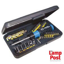 CK Tools T4826D HI-TORQUE Ratchet cacciavite Bit & Socket Set