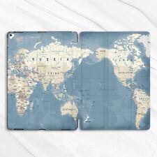 World Map Vintage Nautical Case For iPad 10.2 Air 3 Pro 9.7 10.5 12.9 Mini 4 5