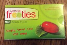 FROOTIES Miracle Fruit Berry 10 Tablets Turn Sour Sweet Student Craze! Sugar
