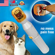 Professional Pet Dog Cat Gentle Nail Trimmer Grooming Tool Grinder Electric Clip