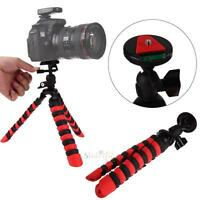 Screw Flexible Octopus Tripod Stand with Ball Head Gorillapod for Gopro Camera