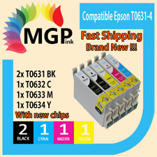 5X Compatible T0631 T0632 T0633 T0634 Ink Cartridge for Epson CX4700 CX5700F