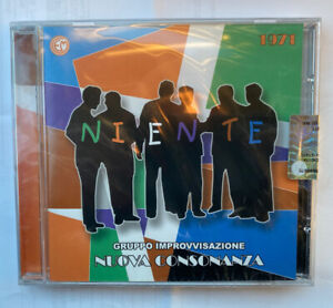 NIENTE NUOVA CONSONANZA CD 2010 OST LIMITED EDITION ENNIO MORRICONE - SEALED