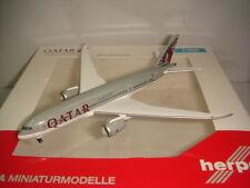 """Herpa Wings 500 Qatar Airways QR B787-8 Dreamliner """"2010 color"""" 1:500 NG"""
