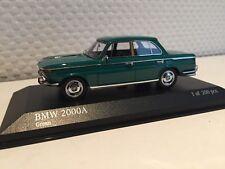 BMW 2000A 1962 grün1:43 Minichamps neu & OVP 437023001