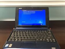 Acer Aspire One ZG5 Blue Laptop Netbook