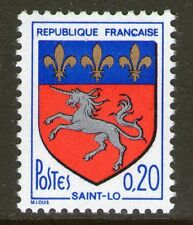 TIMBRE 1510 NEUF XX - BLASON AVEC ARMOIRIES DE LA VILLE DE SAINT-LO