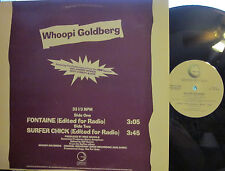 "► Whoopi Goldberg - 12"" Fontaine b/w Surfer Chick (Geffen) (HBO Promo) ('85)"