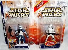 Star Wars Clone Wars Value 2 Pack Action Figures ARC Trooper & Clone Trooper MIB