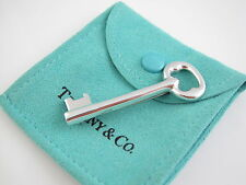 Tiffany & Co RARE 1984 Silver Key Brooch Pin