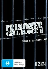 Prisoner - Cell Block H : Vol 18 : Eps 553-600 (DVD, 2013, 12-Disc Set) New Seal