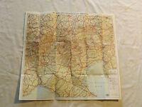 VINTAGE 1950S GERMAN MAP BROCHURE JRO ZENTRALALPEN UND OBERITALIEN