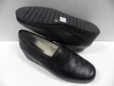 Chaussures JMG HOUCKE dandy noir FEMME taille 36 mocassins fourré hiver NEUF