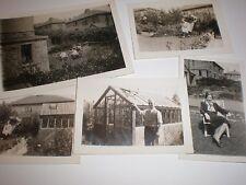 5 Old Photographs of Rayner Avenue Bradford c1938-9