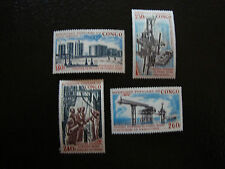 CONGO (brazzaville) - timbre - yvert et tellier aerien n° 153 a 156 n* (A7)stamp