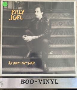 "BILLY JOEL~AN INNOCENT MAN~12"" VINYL LP  - LYRIC INNER~CBS 25554 A2/B2 EX/EX"