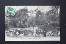 Postcard antique CPA animated ANDUZE - Park of Cordeliers - The Mare