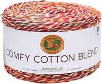 Lion Brand Comfy Cotton Blend Yarn Enchanting Embers 023032026879