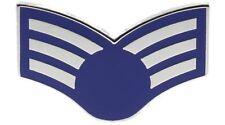 Air Force E-4 Senior Airman 1 inch hat lapel pin H14221D171