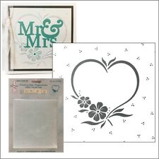 Heart Frame Leane Creatif embossing folders 35.0706 Cuttlebug Compatible folder
