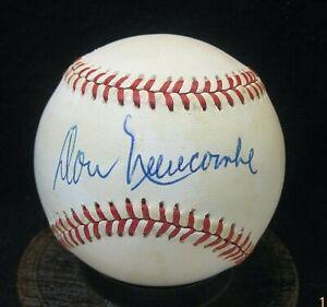Don Newcombe Signed ONL Baseball JSA Certified Brooklyn Dodgers, Newark Eagles