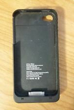 Ultra Slim iPhone 4/4S Battery Case Black