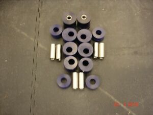 Nissan Micra K11 Rally Spec (8) Poly Bushes (Kit) for The Rear Trailing Arms