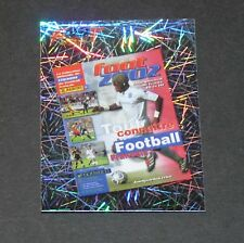 N°27 COUVERTURE 2002 FRANCE PANINI FOOTBALL FOOT 2006 2005-2006