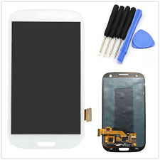 White Full LCD Touch Screen Glass Digitizer For Samsung Galaxy S3 S III i9300 +T