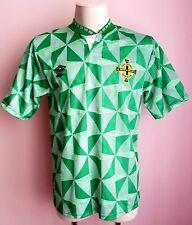 Northern Ireland 1990 - 1992 Home football Umbro shirt