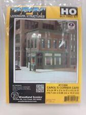 Carol's Corner Cafe DPM Building Kit HO Structure #11300 Model Railroad Diorama