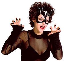 Black Cat Katzenmaske NEU - Karneval Fasching Maske Gesicht