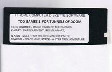 Tunnels of Doom  (TI-99/4a, 1982) 3 FLOPPY DISK GAMES 1,2,3