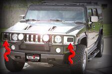 H2 Hummer Turn Signal Blackout Kit SUT SUV Blackouts