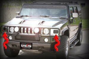 Turn Signal Blackout Kit SUT SUV Blackouts For H2 Hummer