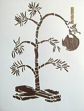 Christmas Tree Stencil/Template Reusable 10 mil Mylar