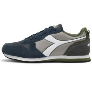 Diadora Olympia Game Shoes Sneakers Men's Blue Grey Comfortable Casual Sports