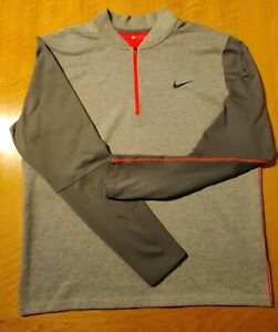 Nike Golf Tiger Woods Collection 1/4 Zip Top Size L