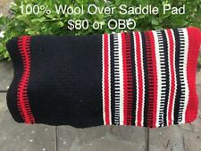 Westren Wool Saddle Over Pad
