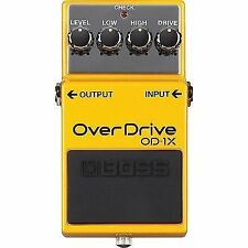 Boss OD-1X Distortion Guitar Effects Pedal OD1X