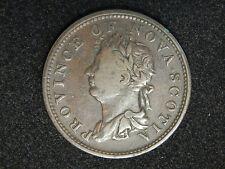 1823 Nova Scotia Half Penny Token
