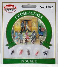 N Scale Model Power Figures 'Crime Scenes' Item #1382