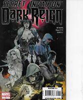 Secret Invasion: Dark Reign #1 Marvel Comics One Shot 2008 Bagged & Boarded