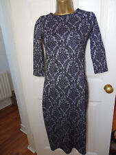 NEW Atmosphere Floral Bodycon Midi Maxi Dress UK 8