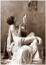 Vintage 29 1920's Erotic Female Nude Sepia Retro Art PHOTO REPRINT RussellArt